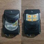 Làm remote điều khiển cửa cuốn HGP nút vàng