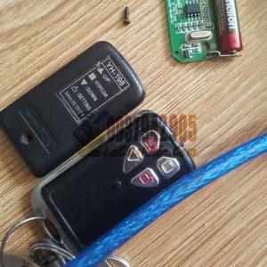 Thay pin remote điều khiển chìa khóa cửa cuốn ở Bình Thạnh