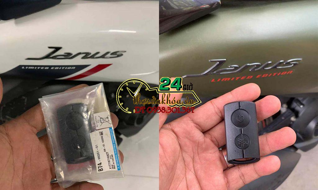 Làm lại chìa khóa thông minh xe Janus NVX giá nhiêu