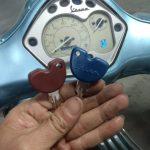 Làm lại 2 chìa khoá gốc xe Fly khi mất hết chìa khoá Giao chìa ngay 30 phút