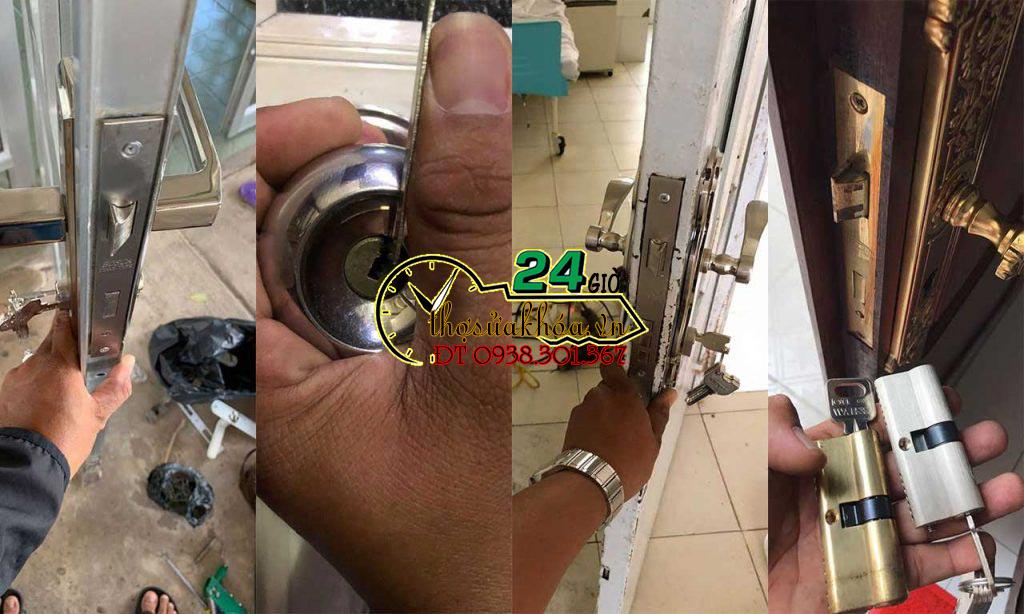 Mở khóa cửa Sửa khóa cửa tại nhà Giá rẻ