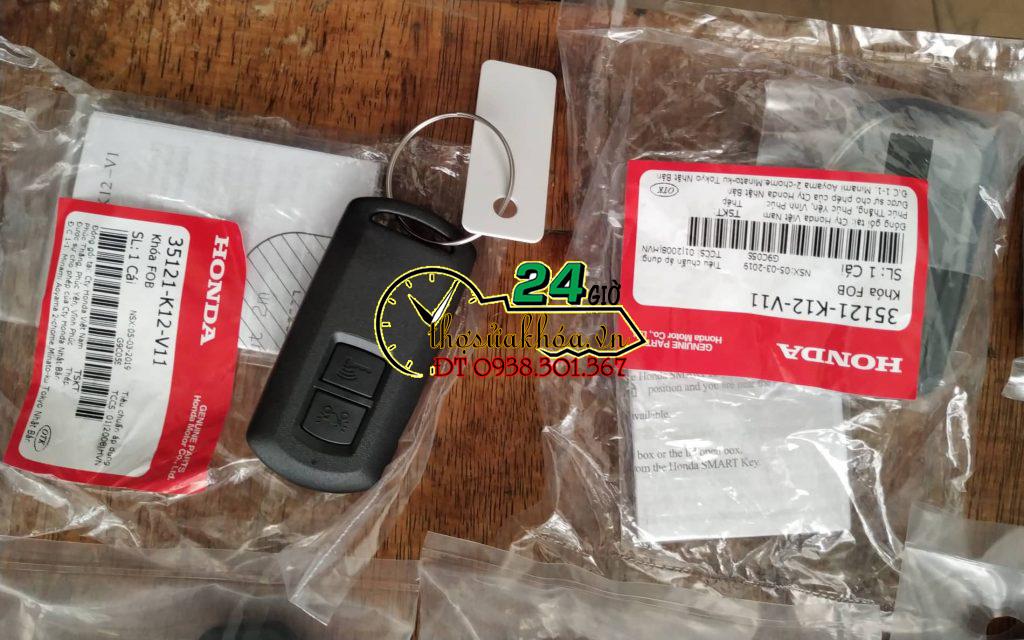 Chìa khóa thông minh xe AirBlade chính hãng mới mua 2 nút