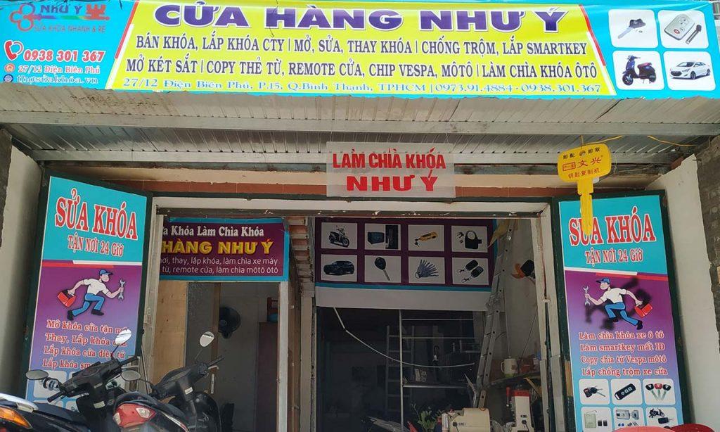 Cửa hàng Sửa Khóa Như Ý Bình Thạnh TPHCM