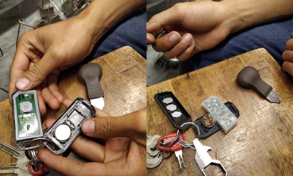 Cách tháo chìa khóa smartkey xe Sh, PCX chính hãng