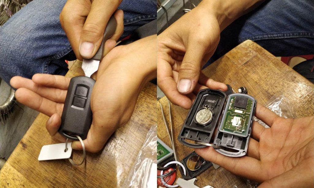 Cách thay pin chìa khóa thông minh xe Vision Vario AB Vario