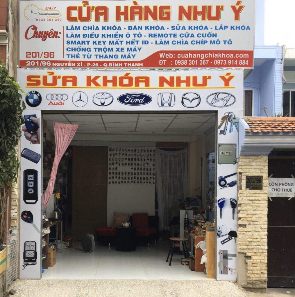 Cửa hàng bán pin chìa khóa pin đồng hồ ở Bình Thạnh uy tín