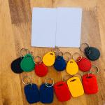 Làm thẻ từ thang máy thẻ chữ nhật thẻ xu