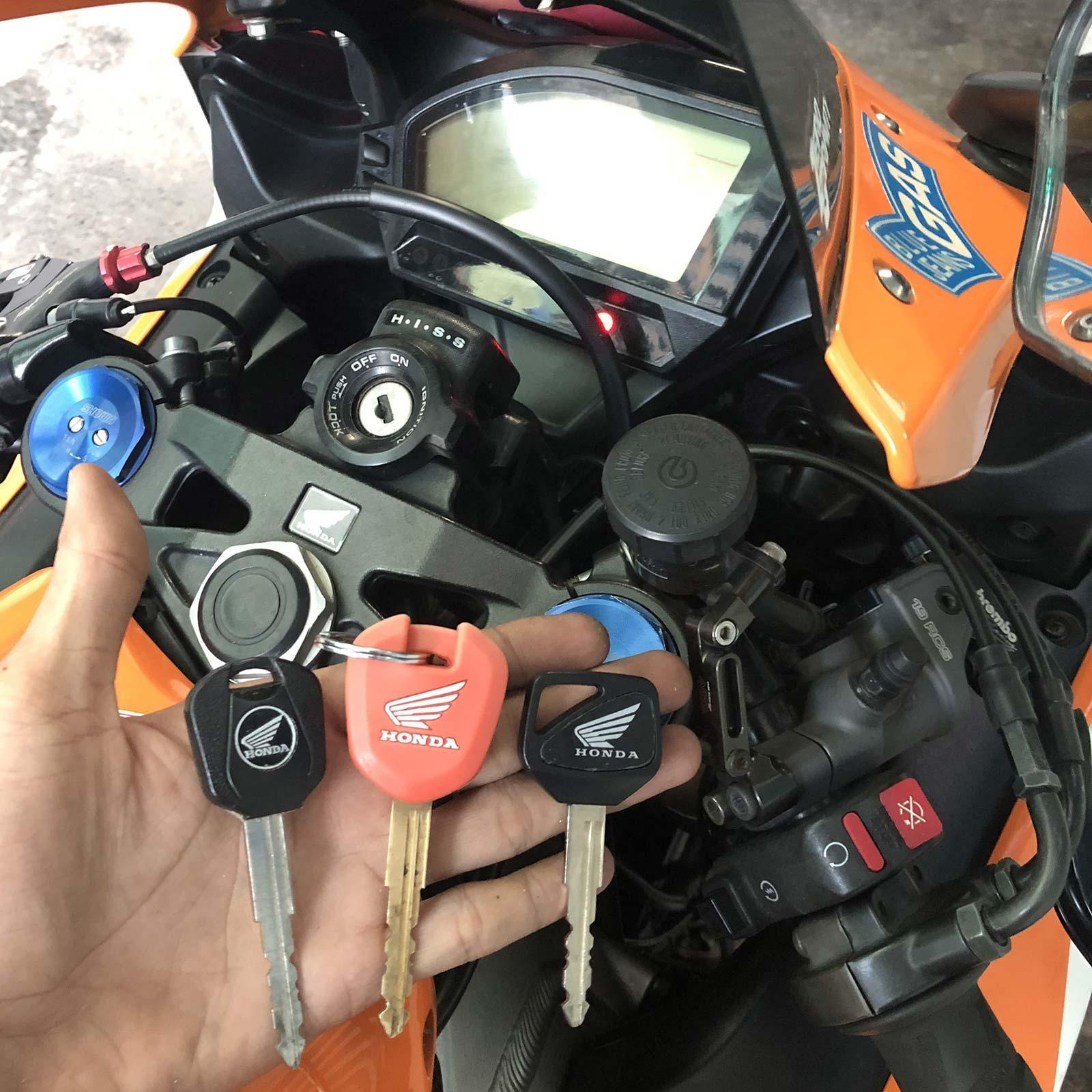 Làm chìa khóa HISS Honda CBR Shadow