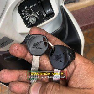 Làm lại chìa khóa xe Honda có liền 10 phút khi bị mất chìa