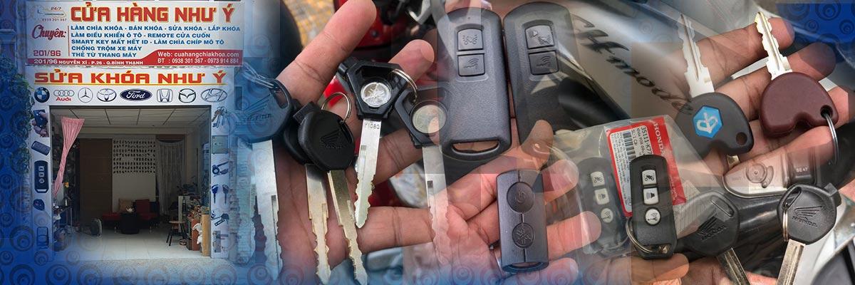 Sửa khóa xe Piagigo, làm lại chìa khóa xe Piagigo mất hết chìa, xe Vespa, Fly, Sprint, Primavera...
