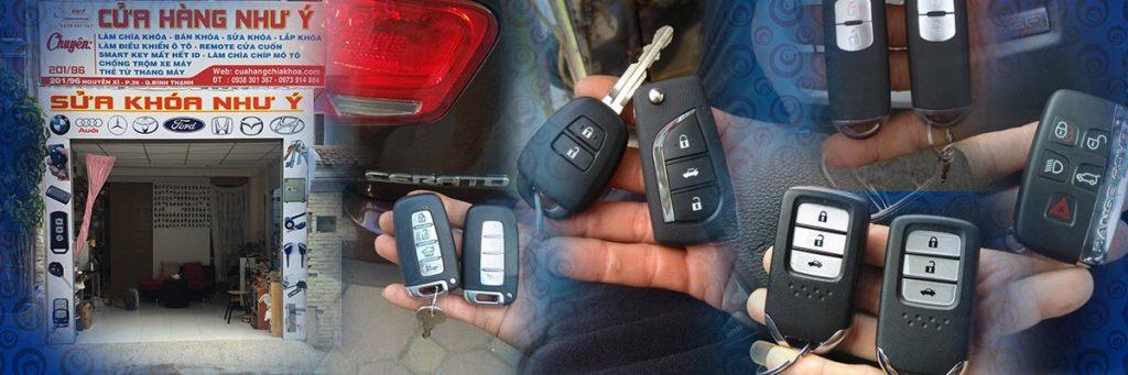 Làm chìa khoá ô tô Sửa khóa xe hơi giá rẻ