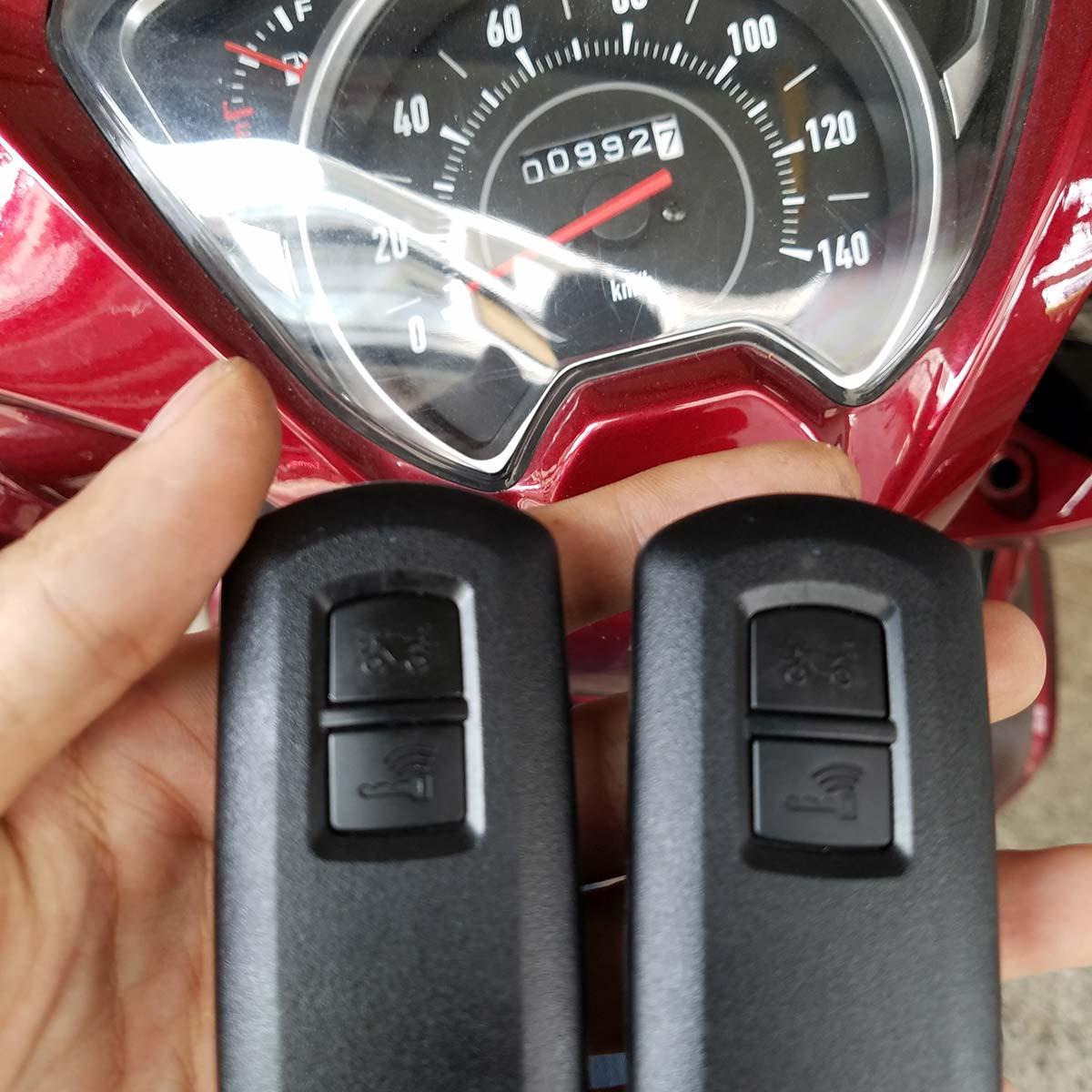 Cách sửa khóa thông minh Honda không lên điện