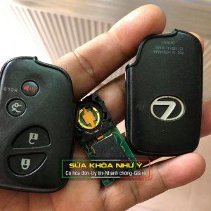 Làm thêm chìa, thay pin, thay vỏ chìa khóa xe Lexus smartkey