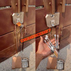 Sửa khóa cửa công thay lắp khóa cổng