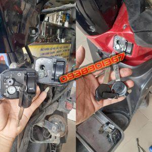 Sửa ổ khóa xe bị hư, bị bẻ khóa, thay ổ khóa chính hãng