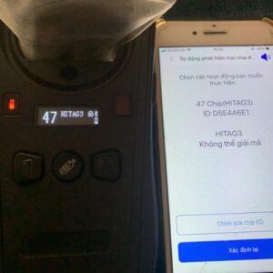 Copy chìa khóa từ, thẻ từ, bằng điện thoại thông minh Iphone Samsung