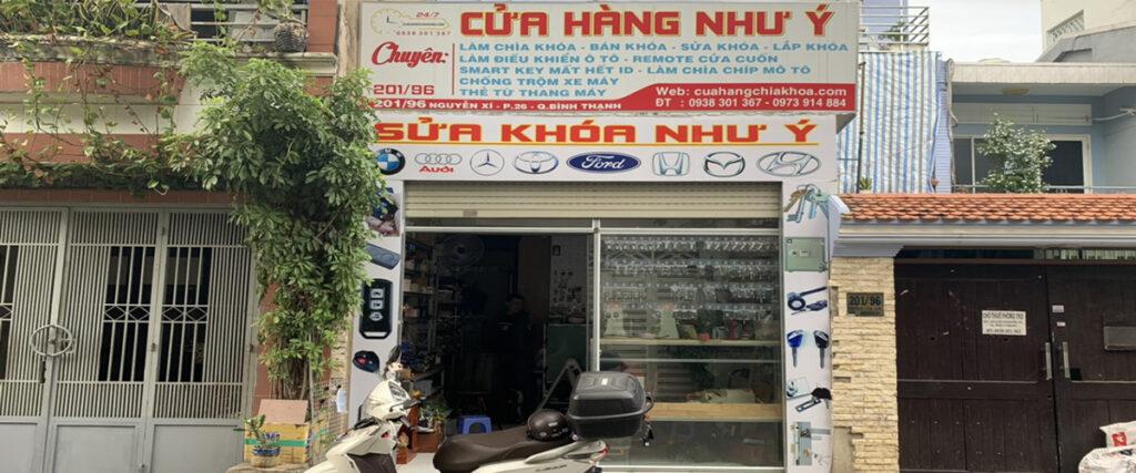 Sửa khóa tại nhà TPHCM uy tín trách nhiệm giá rẻ - Hộ kinh doanh Cửa Hàng Như Ý
