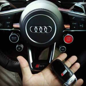 Chìa khóa xe Audi R8 chính hãng Bán phôi cài đặt chìa khóa điện thông minh Audi R8