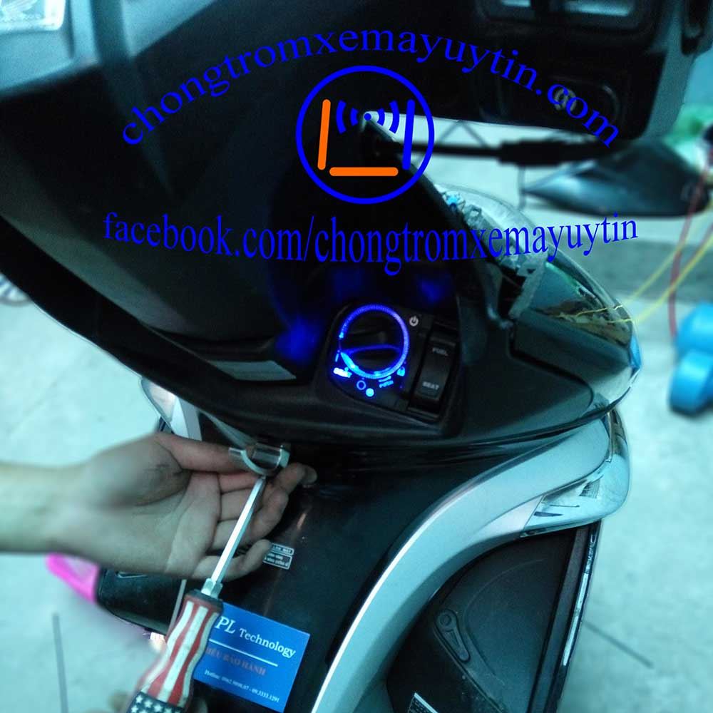 Lắp khóa smartkey xe máy Hà Nội giá rẻ nhất chính hãng 100%